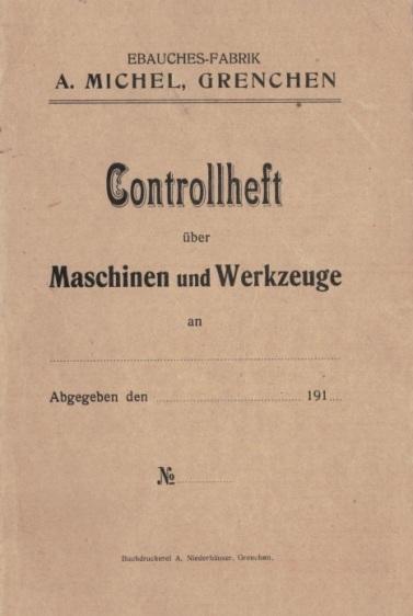 Controllheft 1