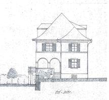 19170502 Villa Roth Neubau Ostfassade