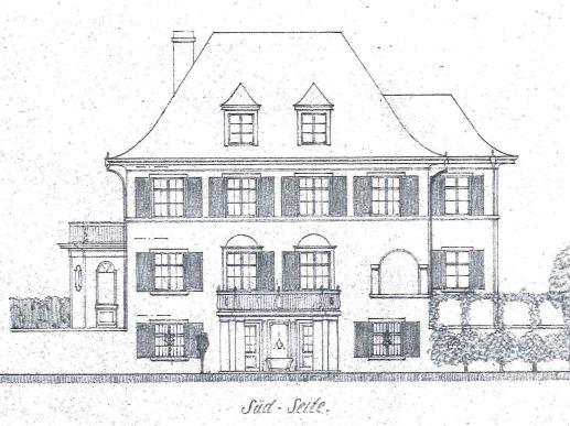 19170502 Villa Roth Neubau Südfassade