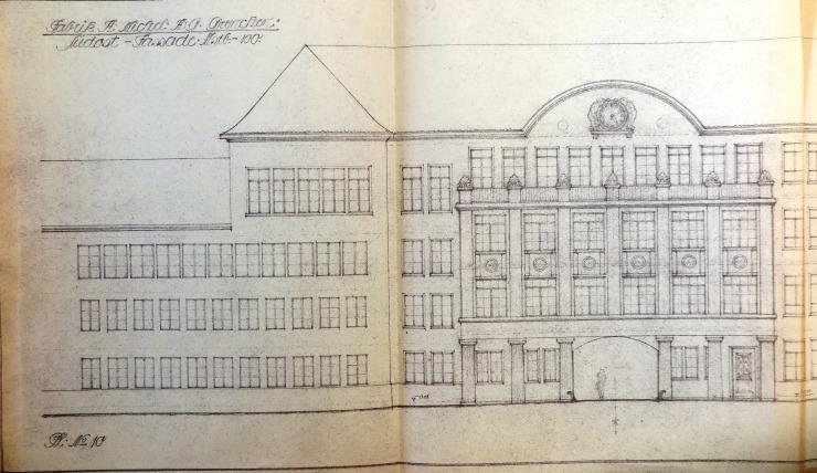19180121 Fabrikneubau Ost Ansicht Südostfassade IMG_3704