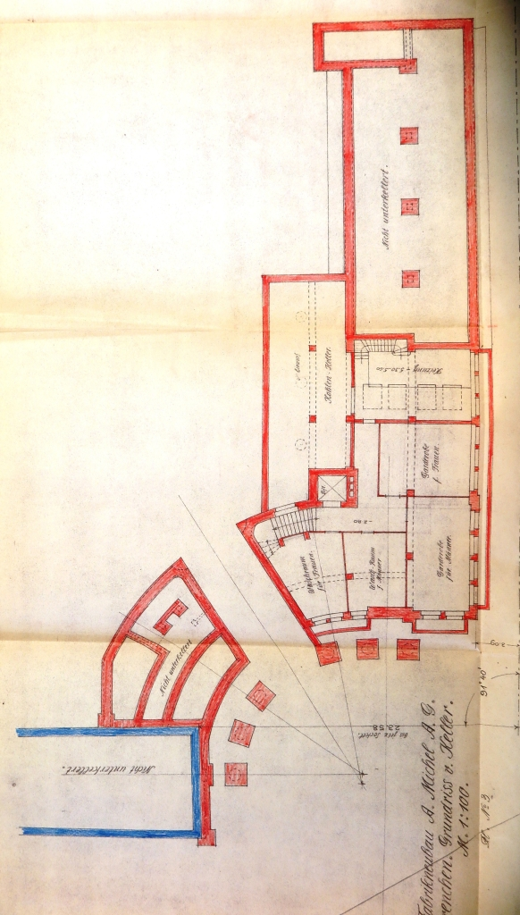 19180121 Fabrikneubau Ost Grundriss Keller Total IMG_3709
