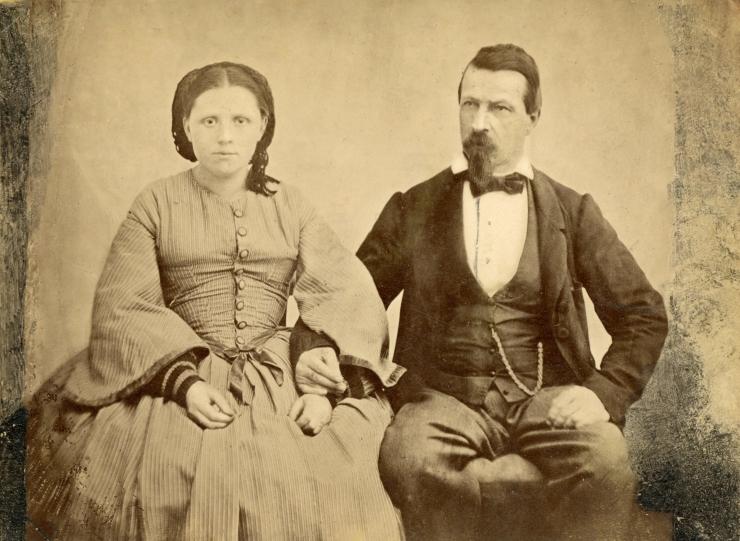 eventuell Mathäus Michel mit Frau