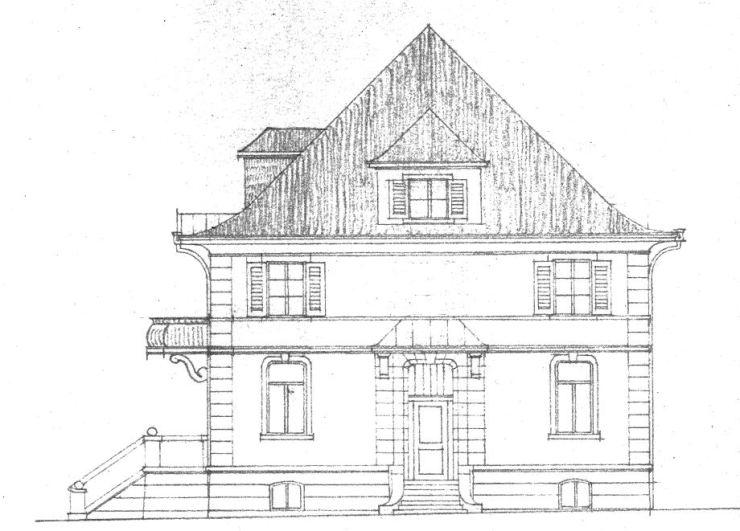 Villa Michel 2. Schritt Ostansicht