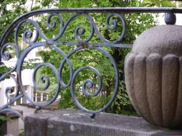 Villa Michel Detail Geländer