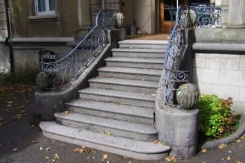 Villa Michel Detail Treppe Süd