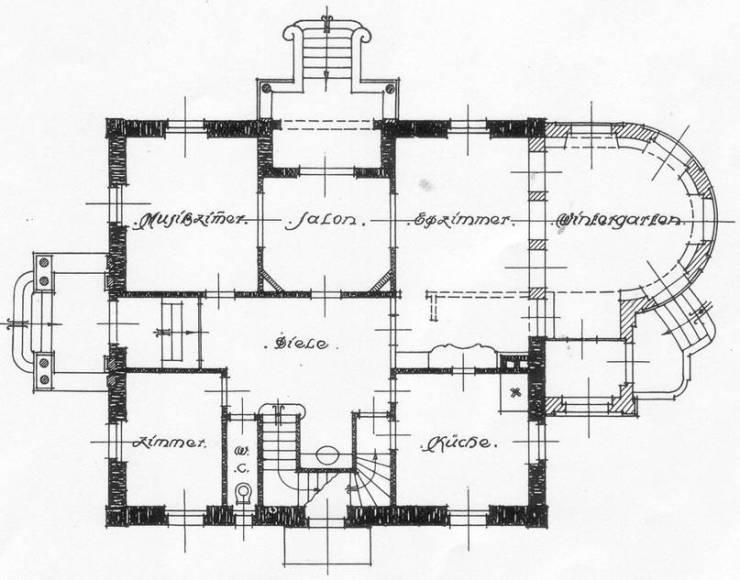 Villa Michel Grundriss EG