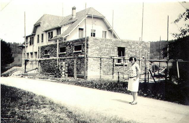 Anbau 1929 und Hermine