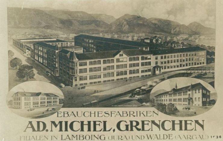Fabrik Michel ca 1917